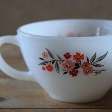 画像4: Fire King Primrose Tea Cup&saucer (4)