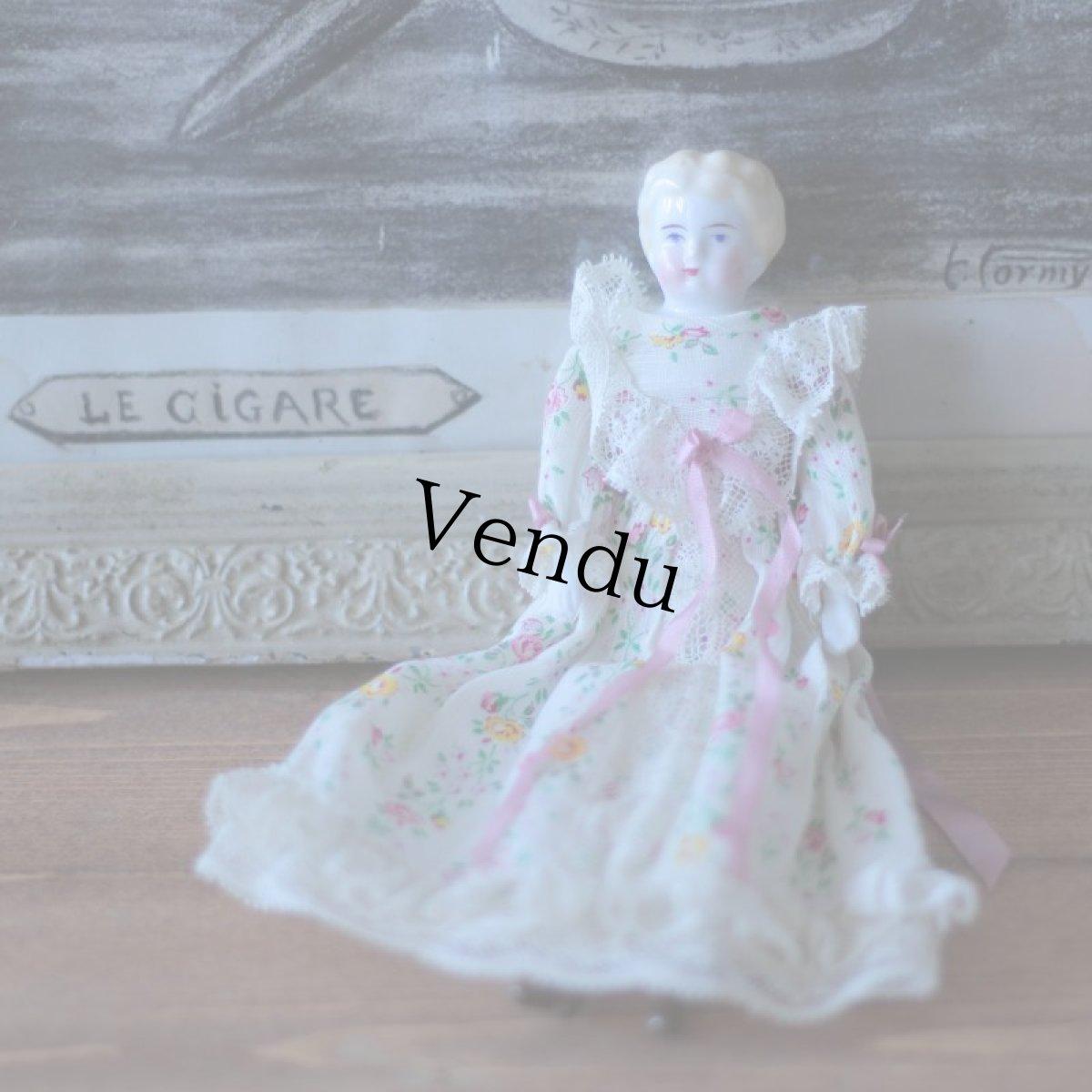 画像1: China head doll (1)