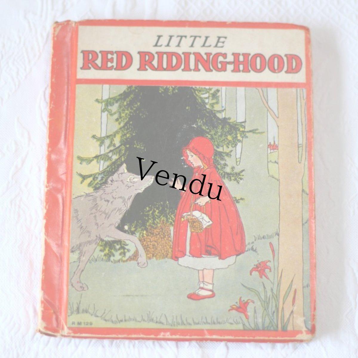 画像1: Little Red Riding-Hood 赤ずきんちゃんの絵本 (1)