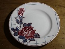 画像1: SALE++Digoin Sarreguemines 20cm plate / French/ディゴアン サルグミンヌ (1)