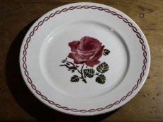 画像10: SALE++BADONVILLER 22.5cm plate/France/バドンヴィレ (10)