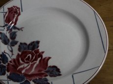 画像2: SALE++Digoin Sarreguemines 20cm plate / French/ディゴアン サルグミンヌ (2)