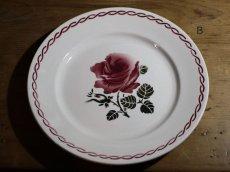 画像3: SALE++BADONVILLER 22.5cm plate/France/バドンヴィレ (3)