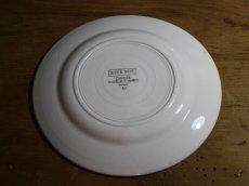 画像8: Digoin Sarreguemines 20cm plate / French/ディゴアン サルグミンヌ (8)