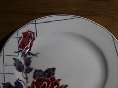 画像4: SALE++Digoin Sarreguemines 20cm plate / French/ディゴアン サルグミンヌ (4)