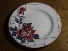 画像5: Digoin Sarreguemines 20cm plate / French/ディゴアン サルグミンヌ (5)