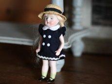 画像2: 麦わら帽子の可愛いミニョネット (2)