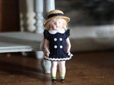 画像3: 麦わら帽子の可愛いミニョネット (3)
