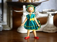 画像8: wooden peg doll /Poland (8)
