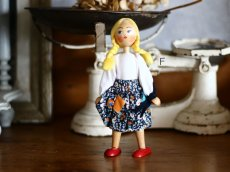 画像12: wooden peg doll /Poland (12)