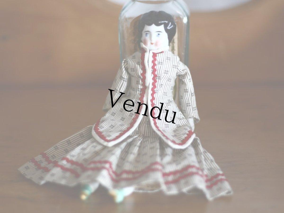 画像1: チャイナヘッドドール /China head doll  (1)