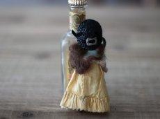 画像8: 黒い麦わら帽子のミニョネット (8)