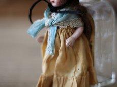 画像5: 黒い麦わら帽子のミニョネット (5)