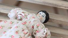 画像3: 小花ドレスのチャイナヘッドドール (3)