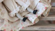 画像9: 小花ドレスのチャイナヘッドドール (9)