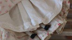 画像7: 小花ドレスのチャイナヘッドドール (7)