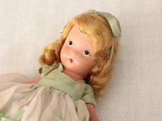 画像9: 若草色ドレスのNancy Ann / ナンシー アン ドール (9)