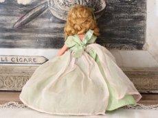 画像7: 若草色ドレスのNancy Ann / ナンシー アン ドール (7)