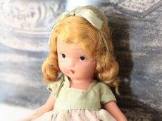 画像4: 若草色ドレスのNancy Ann / ナンシー アン ドール (4)