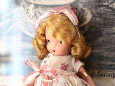 画像2: 薔薇のドレスのNancy Ann / ナンシー アン ドール (2)