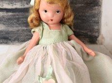 画像5: 若草色ドレスのNancy Ann / ナンシー アン ドール (5)