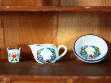 画像1: Reutter Porzellan ミニチュア陶器セットおまけ付き/Germany (1)