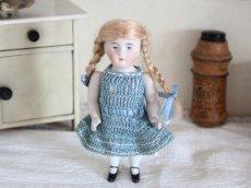 画像1: Kestner Bisque Doll 5in/Germany (1)