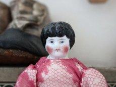 画像2: China Head Doll ピンクドレス 6.5in (2)
