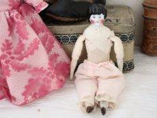 画像7: China Head Doll ピンクドレス 6.5in (7)