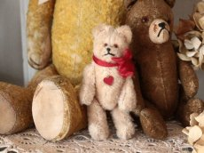 画像8: Antique Mini Berg Bear 4in/Austria (8)