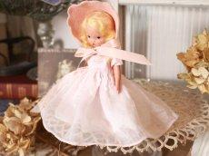 画像2: Nancy Ann Story Book Pink Dress/ナンシー アン ドール (2)