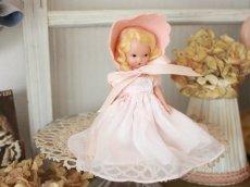 画像3: Nancy Ann Story Book Pink Dress/ナンシー アン ドール (3)