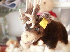 画像7: RARE!! RARE!! RARE!! Antique Steiff Moosy moose ヘラジカ/ 蚤の市 (7)