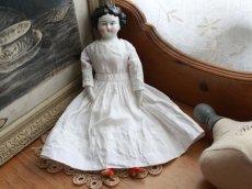 画像1: RARE! China Head Doll 10 1/2 in /クラシックスタイルヘッド (1)