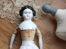 画像6: RARE! China Head Doll 10 1/2 in /クラシックスタイルヘッド (6)