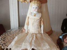 画像4: China Head Doll 9in /ジュエルショルダーヘッド (4)