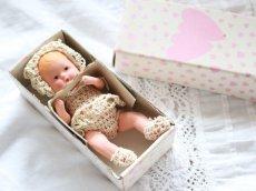 画像11: Nancy Ann Storybook Baby K&H Bisque Doll/Wood Cradle/Original Box/RARE Pamphlet /A (11)