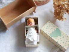 画像6: Nancy Ann Storybook Baby K&H Bisque Doll/Wood Cradle/Original Box/RARE Pamphlet /E (6)