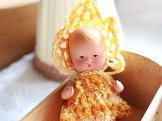 画像2: Nancy Ann Storybook Baby K&H Bisque Doll/Wood Cradle/Original Box/RARE Pamphlet /D (2)