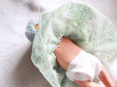 画像4: Nancy Ann Storybook Baby K&H Bisque Doll/Wood Cradle/Original Box/RARE Pamphlet /C (4)