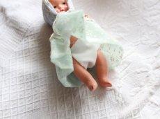 画像3: Nancy Ann Storybook Baby K&H Bisque Doll/Wood Cradle/Original Box/RARE Pamphlet /C (3)