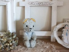 画像1: Le Jouet Paris Massy 6.5in /J.P.M. Bear/light blue&yellow/France (1)