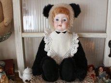 画像1: Panda Doll/Armand Marseille Head/15in/Germany (1)