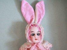 画像2: Gebruder Kuhnlenz Easter Bunny Pair Box  B /5 1/2in/Germany (2)