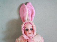 画像3: Gebruder Kuhnlenz Easter Bunny Pair Box  B /5 1/2in/Germany (3)