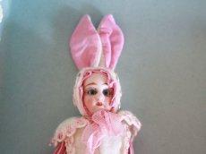 画像7: Gebruder Kuhnlenz Easter Bunny Pair Box A/5 1/2in/Germany (7)