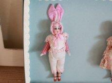 画像3: Gebruder Kuhnlenz Easter Bunny Pair Box A/5 1/2in/Germany (3)