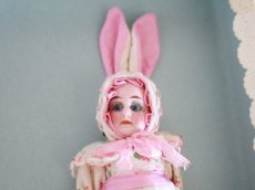 画像5: Gebruder Kuhnlenz Easter Bunny Pair Box A/5 1/2in/Germany (5)