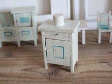画像6: RARE!! Antique Doll House Furniture Kitchen SET (6)