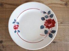画像1: BADONVILLER ROSE Plate A/ 8 3/4in /France (1)